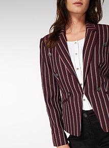 Multicoloured Stripe Jacket