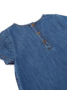 Blue Denim Dress (3-14 years)