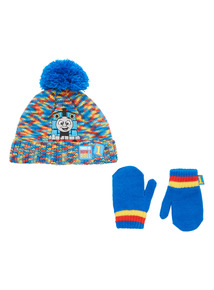 Blue Thomas The Tank Engine Hat and Glove Set (1-6 years)