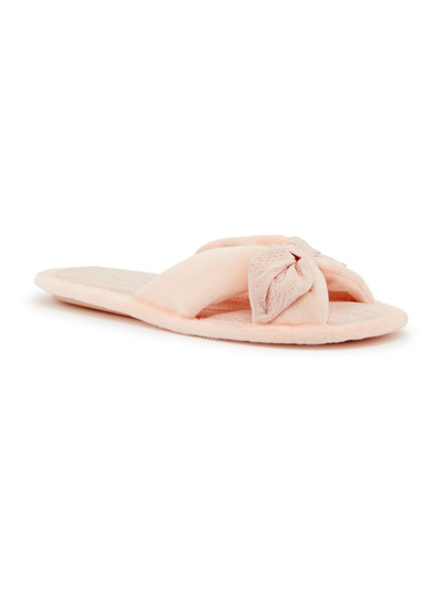 Crossover Open Toe Slipper