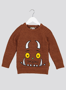 The Gruffalo Brown Crew Neck Jumper (2- 6 years)