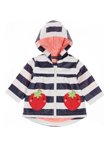 Multicoloured Striped Jacket (0-24 Months)