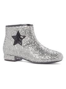 Glitter Star Chelsea Boots (10 Infant - 4)