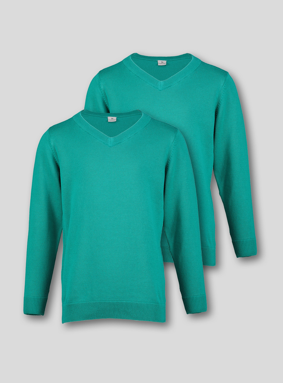 Jade V-Neck Jumpers 2 Pack