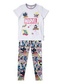 Multicoloured Disney Marvel Pyjamas (3-12 years)