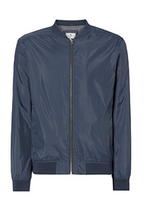 Shower Resistant Bomber Jacket With Teflon