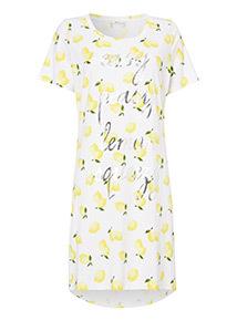 Lemon Night Dress