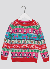Christmas Multicoloured Fairisle Jumper (1- 6 Years)