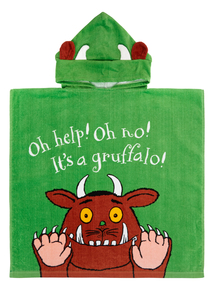 Green Gruffalo Poncho (One Size)