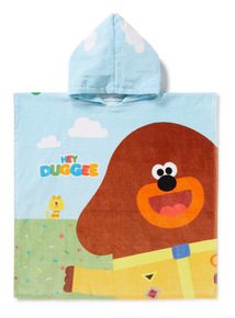 Green 'Hey Duggee' Poncho (One Size)