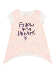 Girls 'Follow Your Dreams' Top (3 - 12 Years)