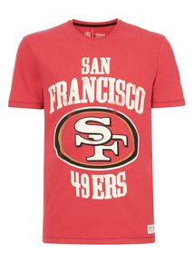 Red NFL San Fransisco Tee