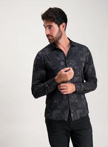 Frontman Paisley Print Regular Fit Shirt