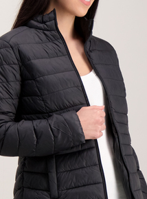 Black Packaway Padded Thermolite Jacket