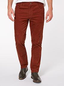 Tan Corduroy Trousers
