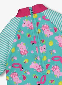 Peppa Pig Multicoloured Rash Vest & Brief Set (1-6 Years)