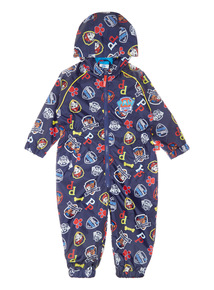Multicoloured Paw Patrol Puddlesuit (9 months-5 years)