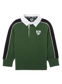 Kids Green Ireland Rugby T-shirt (1-2 years)