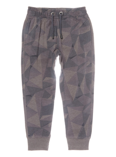 Grey Camouflage Pattern Joggers (3-14 years)