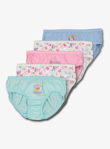3b7cfe7d1 Peppa Pig Holiday Multicoloured Briefs 5 Pack (18 Months- 6 Years)