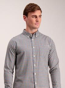 Multicoloured Gingham Regular Fit Shirt