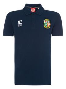 Online Exclusive Navy British & Irish Lions Polo