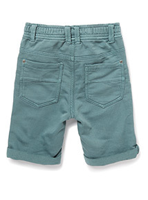 Green Loopback Shorts (3-14 years)