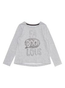 "Grey Fab ""BOO"" Lous Tee (9 months-6 years)"