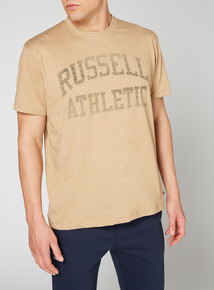 Online Exclusive Russell Athletic Stone Logo Tee