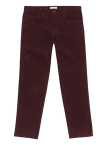 Purple Corduroy Trousers