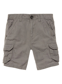 Grey Cargo Shorts (3-12 years)