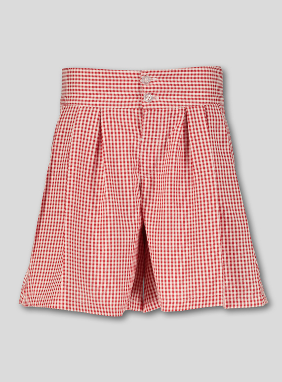 2eef253fe Kids Red Gingham School Culottes (3-14 years) | Tu clothing