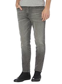 Grey Skinny Wash Jeans