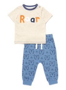 Blue Roar Jog Set (0-24 months)