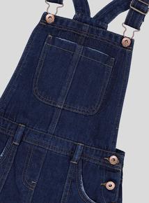 Blue Denim Dungaree Dress (3-14 Years)