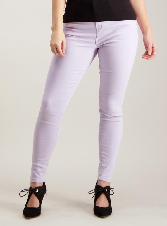d1072610b15 Womens PETITE Lilac Skinny Fit Jeans