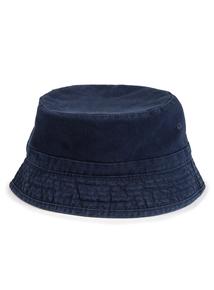 Navy & Grey Reversible Bucket  Hat