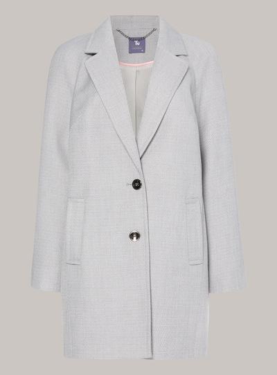 Premium Marl Crombie Coat