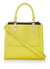 Lime Square Bag