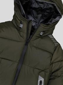 Premium Khaki Puffer Coat (3 -14 Years)