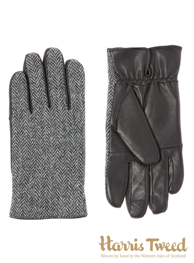 Harris Tweed Herringbone Glove