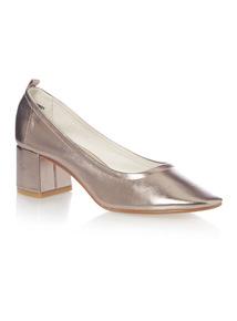 Metallic PU Glove Shoes