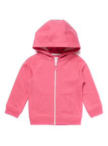 Pink Zip Through Hoody