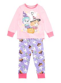 Pink Halloween Paw Patrol Pyjama Set (1.5 years-7 years)