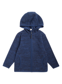 Navy Zip Through Fleece (3-14 years)