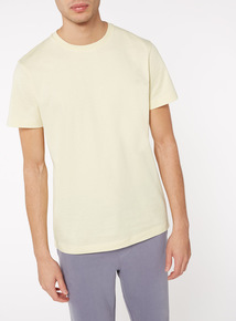 Yellow Crew Neck Tee