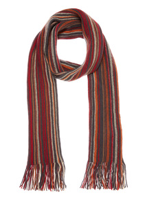 Multicoloured Striped Rochelle Scarf