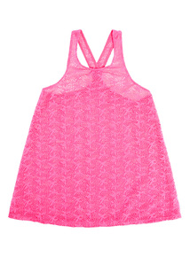 Pink Crochet Swim Dress (3-12 years)