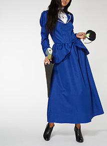 Blue Adult Mary Poppins Outfit