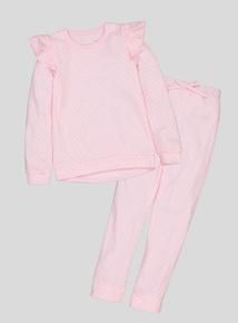 Pink Star Print Pyjamas (4-14 years)